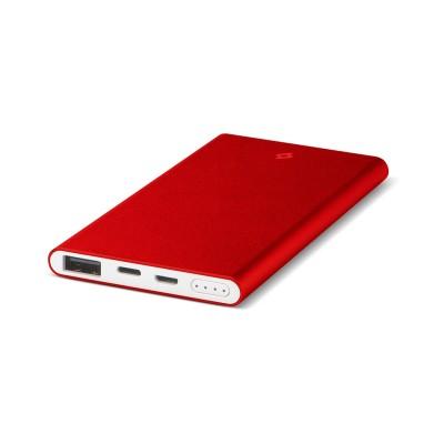 Ttec AlumiSlim S™ 5.000mAh Φορητή Μπαταρία Powerbank  - Red (200-107-168)