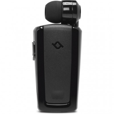 Ttec Macaron™ Mini Bluetooth Ακουστικό Με Επεκτεινόμενο Καλώδιο Μαύρο (200-107-173)