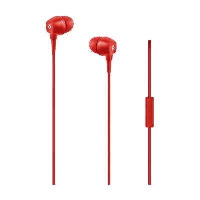 Ttec Pop™ Ακουστικά & Handsfree Red (200-107-176)