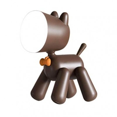 Allocacoc Waggy Puppy Lamp Φωτάκι Νυχτός - Φωτιστικό Σκυλάκι με Διακόπτη Ουρά -Brown (200-107-186)