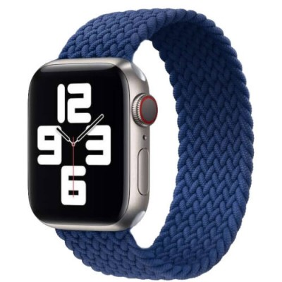 Stoband Hera Braided Blue Λουράκι για Apple Watch 42mm & 44mm (200-107-206)