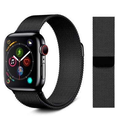 Stoband Amphion Series Stainless Steel Band Black Apple Watch 42/44mm (200-107-561)
