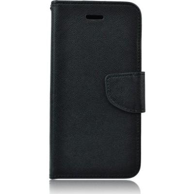 Fancy Θήκη - Πορτοφόλι για Huawei P8 / P9 Lite (2017) Black (200-108-462)