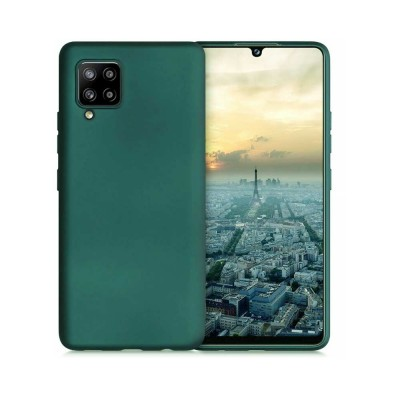 My Colors Θήκη Σιλικόνης για Samsung Galaxy A42 5G Σκούρο Πράσινο (200-107-665)