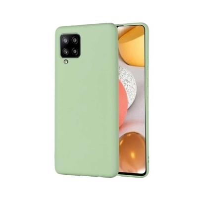 My Colors Θήκη Σιλικόνης για Samsung Galaxy A42 5G Ανοιχτό Πράσινο (200-107-667)