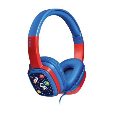 Ttec SoundBuddy™ Παιδικά Ακουστικά Κεφαλής Blue (200-107-681)