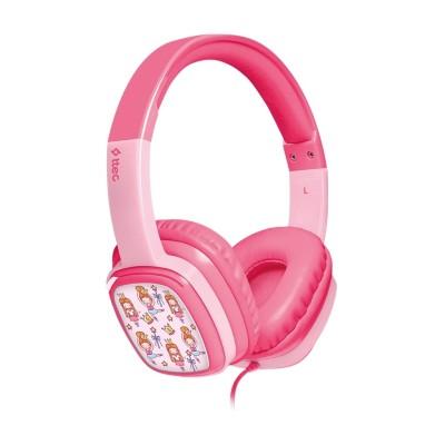 Ttec SoundBuddy™ Παιδικά Ακουστικά Κεφαλής Pink (200-107-682)