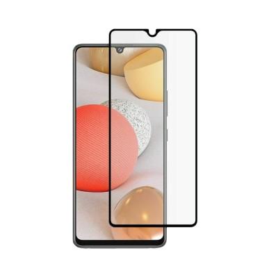 Mocolo TG+ Full Glue Tempered Glass - Fullface Αντιχαρακτικό Γυαλί Samsung Galaxy A42 5G - Black (200-107-684)