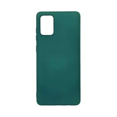 My Colors Θήκη Σιλικόνης για Samsung Galaxy A71 Σκούρο Πράσινο (200-107-685)