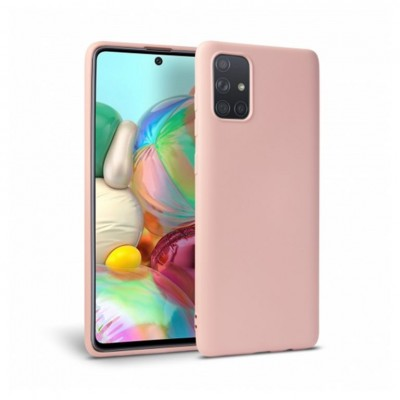 My Colors Θήκη Σιλικόνης για Samsung Galaxy A71 Ροζ (200-107-686)