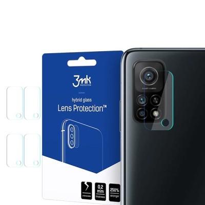 3MK Hybrid Glass Camera Protector - Αντιχαρακτικό Υβριδικό Προστατευτικό Γυαλί για Φακό Κάμερας Samsung Galaxy A71 - 4 τεμάχια (200-107-688)