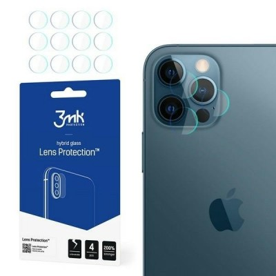3MK FG Camera Lens Flexible Glass Film Prοtector 7H (4τμ) iPhone 12 Pro (200-107-689)