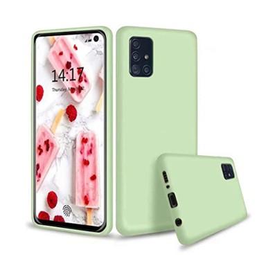 My Colors Θήκη Σιλικόνης Samsung Galaxy A51 Ανοιχτό Πράσινο (200-107-705)