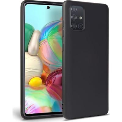 My Colors Θήκη Σιλικόνης Samsung Galaxy A51 Μαύρο (200-107-706)