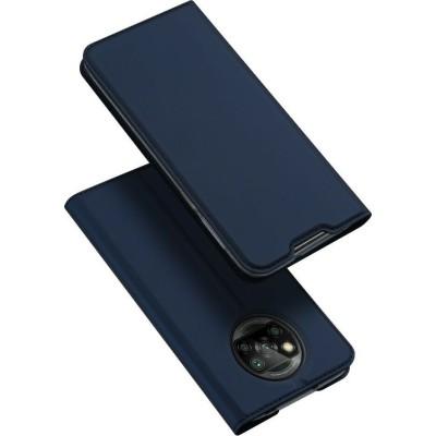 Duxducis SkinPro Θήκη Πορτοφόλι Xiaomi Poco X3 NFC - Blue (200-107-714)