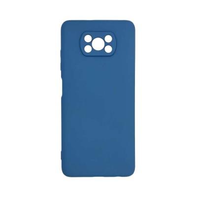 My Colors Θήκη Σιλικόνης Xiaomi Poco X3 NFC Μπλε Σκούρο - (200-107-715)