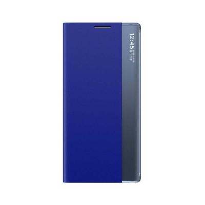 OEM New Sleep Flip Cover Case Θήκη με Ημιδιάφανο Παράθυρο Samsung Galaxy A52 - Blue (200-107-717)