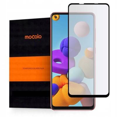 Mocolo TG+ Full Glue Tempered Glass - Fullface Αντιχαρακτικό Γυαλί Samsung Galaxy A21s - Black (200-107-732)