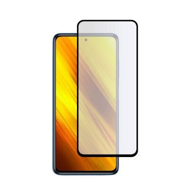 ΟΕΜ Full Cover Tempered Glass Black για Samsung Galaxy J4 Plus (200-108-307)