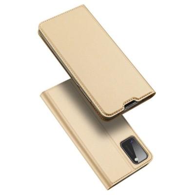 Dux Ducis Θήκη Πορτοφόλι Samsung Galaxy A41 -  Gold (200-107-741)