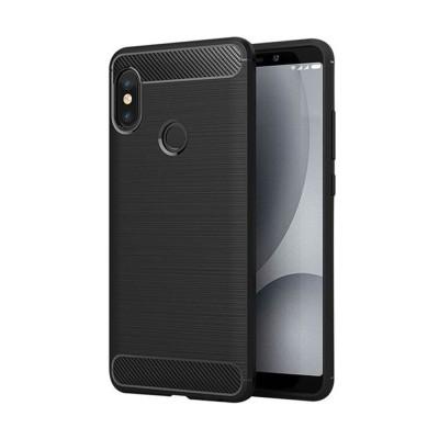 OEM Θήκη Σιλικόνης Carbon Desing Xiaomi Redmi 6 - Black (200-107-744)