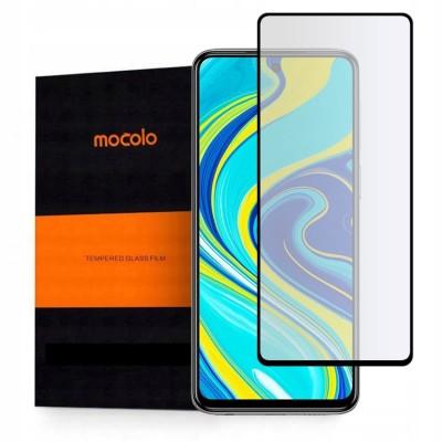 Mocolo Full Cover Glass 9H Black για Xiaomi Redmi Note 9 Pro / Redmi Note 9S / Poco X3 (200-107-746)