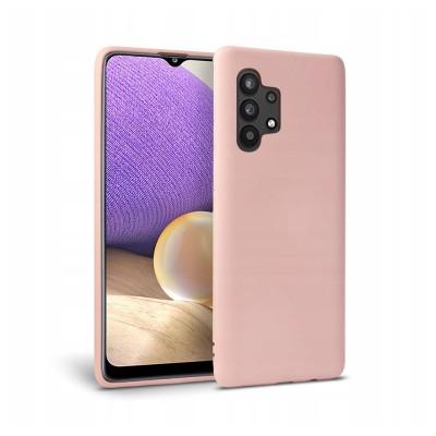 OEM Icon Θήκη Σιλικόνης Samsung Galaxy A32 5G Pink (200-107-748)