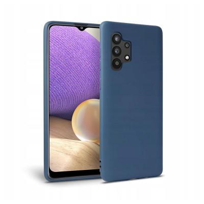 OEM Icon Θήκη Σιλικόνης Samsung Galaxy A32 5G Blue (200-107-749)