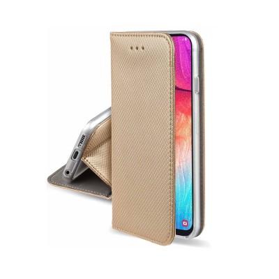 OEM Smart Book Θήκη - Πορτοφόλι για Samsung Galaxy A42 5G - Gold (200-107-762)