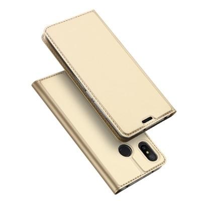 Duxducis SkinPro Flip Θήκη για Xiaomi Redmi Note 7 - Χρυσό (200-107-764)