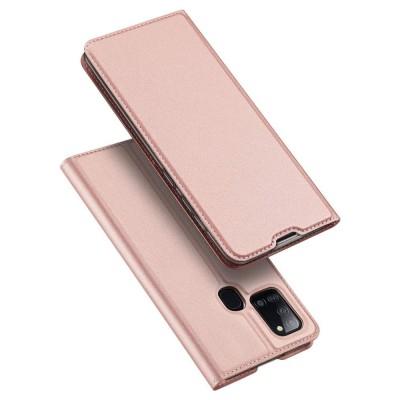 Duxducis SkinPro Flip Θήκη για Samsung Galaxy A21s - Rose Gold (200-107-767)