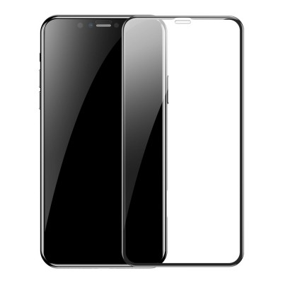 Baseus 0.3mm Full-screen Tempered Glass για Apple iPhone 11 Pro Max / XS Max (2pcs) –  (SGAPIPH65S-KC01) Black (200-107-837)