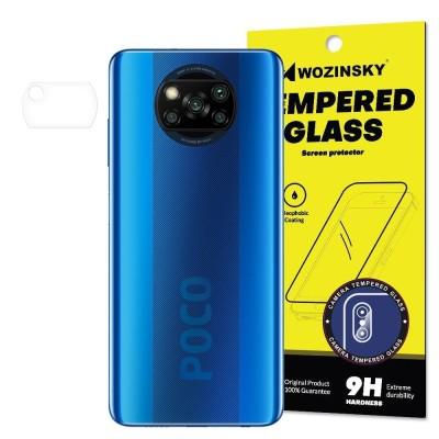 Wozinsky 9H Camera Lens Tempered Glass Film Prοtector for Xiaomi Poco X3 NFC / Poco X3 Pro (200-107-901)
