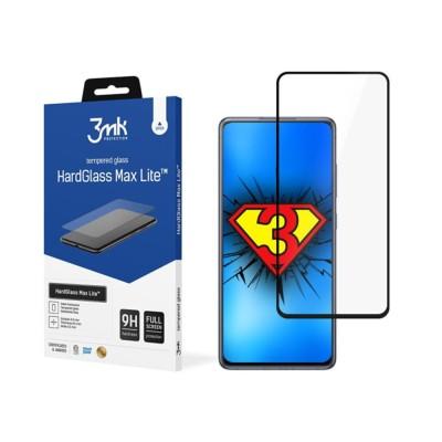 3MK HardGlass Max Lite Full Face Tempered Glass Samsung Galaxy S20 FE Μαύρο (200-107-974)