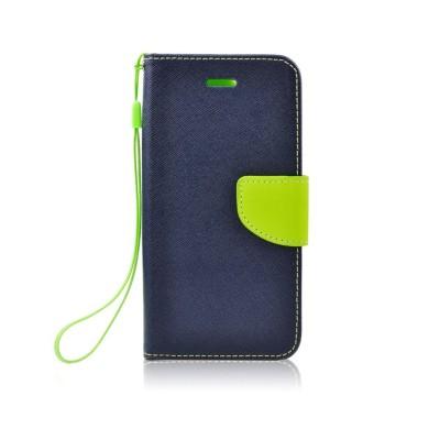 Fancy Θήκη - Πορτοφόλι για Samsung Galaxy A5 (2017) Μπλε - Λαχανί (200-108-450)