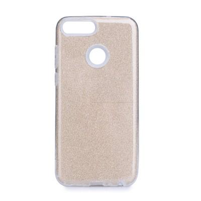 Shining Glitter Case για Huawei P Smart - Gold (200-107-996)