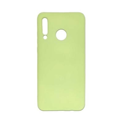 OEM Soft Touch Silicon για Huawei P30 Lite Πράσινο (200-108-018)