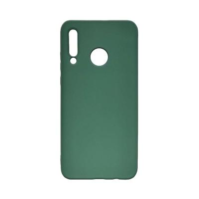 OEM Soft Touch Silicon για Huawei P40 Lite E Dark Green (200-108-131)