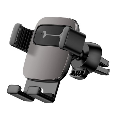 Baseus Cube Gravity Car Mount Air Vent Phone Bracket Holder black (SUYL-FK01) (200-108-049)