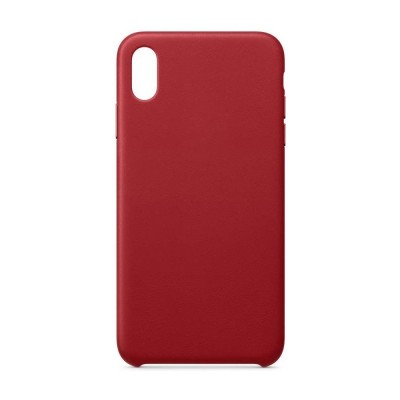 OEM Eco Leather Back Cover Case for iPhone 11 Pro Max Red (200-108-051)