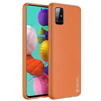 DuxDucis Yolo Elegant Θήκη Samsung Galaxy A71 - Orange (200-108-072)