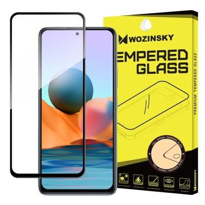 Wozinsky Full Cover Tempered Glass Full Glue Black για Xiaomi Redmi Note 10 4G (200-108-078)