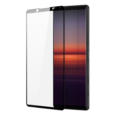 Dux Ducis Full Face Black Αντιχαρακτικό Γυαλί 9H 10D Tempered Glass Sony Xperia 5 II (200-108-081)