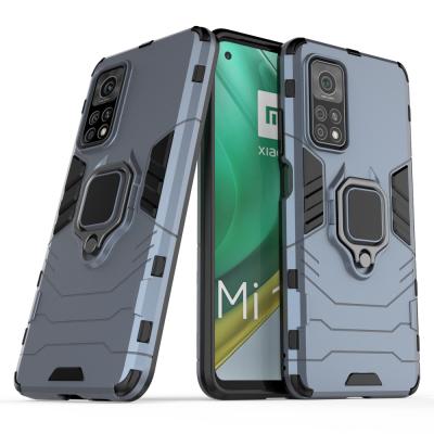 OEM Ring Armor Kickstand Magnetic Θήκη Xiaomi Mi 10T Pro / Mi 10T  - Blue (200-108-086)