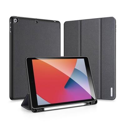 Duxducis Domo Lite - Θήκη Flip με Υποδοχή Apple Pencil - iPad 10.2'' 2020 / iPad 10.2'' 2019 - Black (200-108-112)