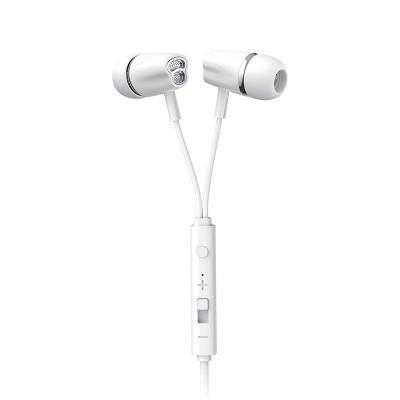 Joyroom JR-EL114 In-Ear Earphones Ακουστικά 3.5mm Mini Jack με Μικρόφωνο - White (200-108-119)