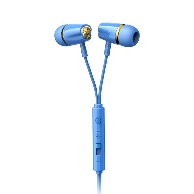 Joyroom JR-EL114 In-Ear Earphones Ακουστικά 3.5mm Mini Jack με Μικρόφωνο - Blue (200-108-118)