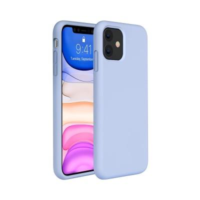 My Colors Original Liquid Silicon For iPhone 12 Pro Max Light Violet (200-108-139)