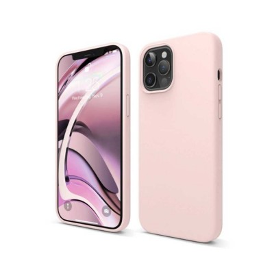 My Colors Original Liquid Silicon For iPhone 12 Pro Max Light Pink (200-108-138)