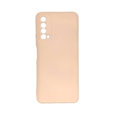 OEM Soft Touch Silicon για Huawei P Smart 2021 Light Pink (200-108-147)